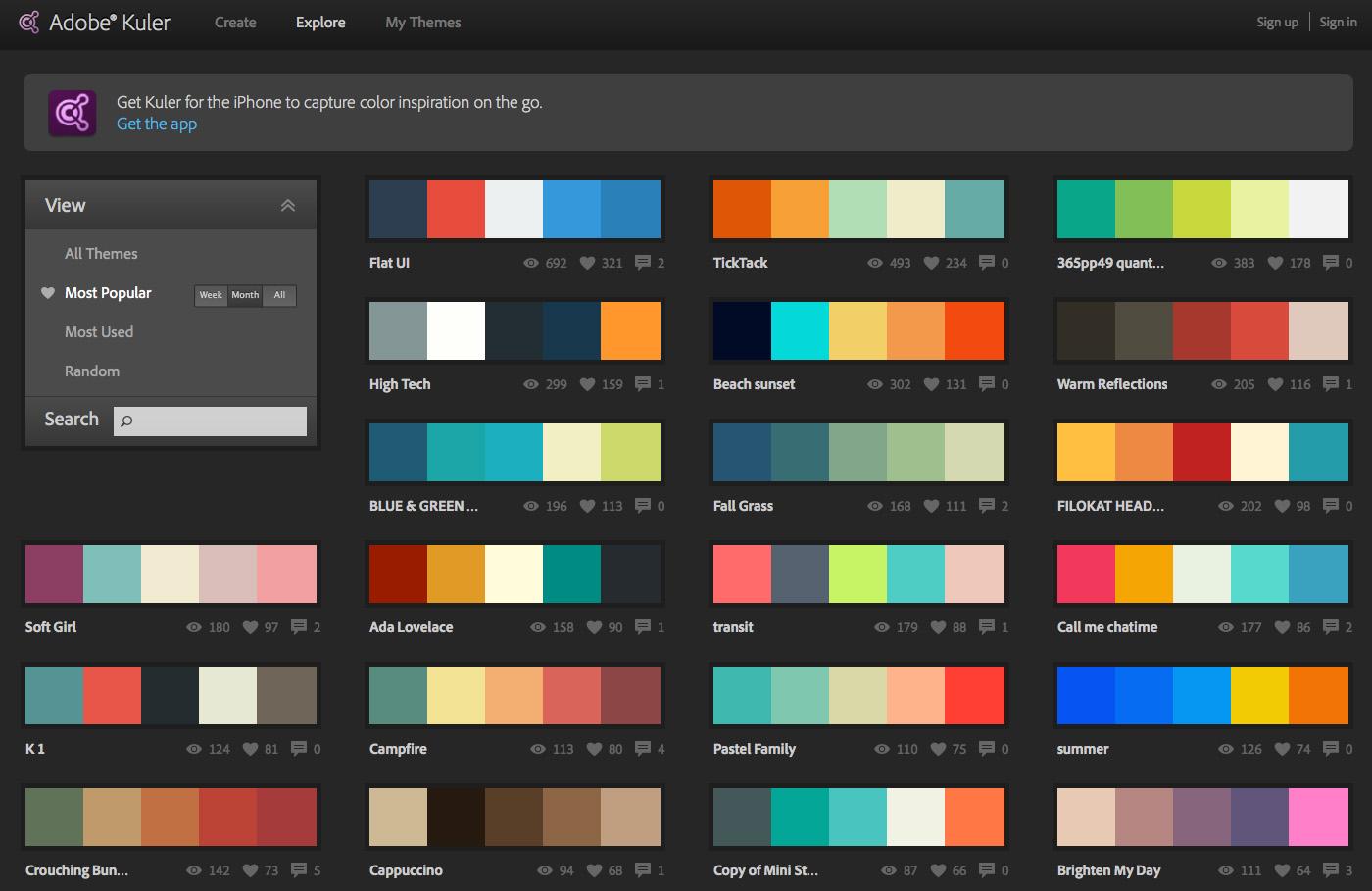 Adobe Kuler adalah produk keluaran Adobe yang diberikan secara gratis ...