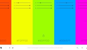 Coolors: Membantu Cara Memilih Warna Yang Bagus